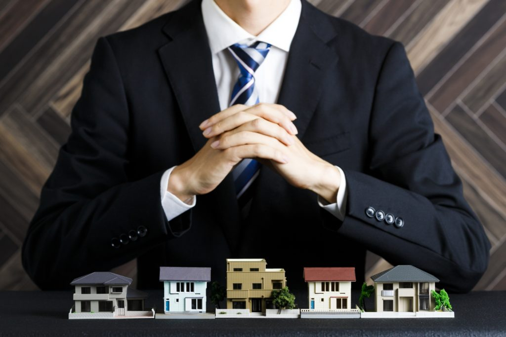 不動産と営業マン